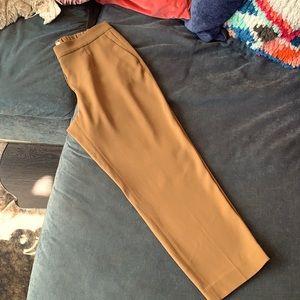 Aritzia / Babaton: Mustard Brown Trousers